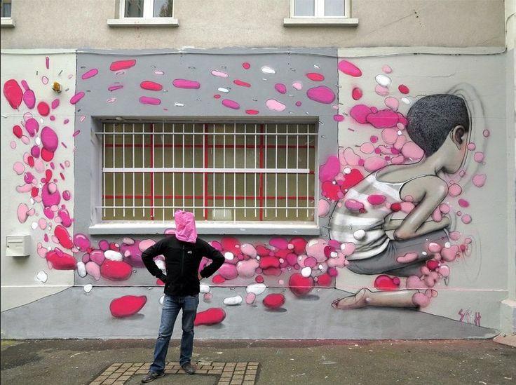 """<p style=""""text-align: justify;"""">Julien MallandditSetpuisSeth, est un graffeurde la scène parisienneen train d'imposer sa patte sur les mu ..."""