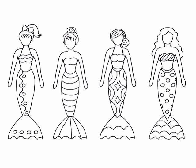 Mermaid Tail Malvorlagen Neue Color Sheet Meerjungfrauen Ausdrucke Meerjungfrau Mandala Zum Ausdrucken Ausmalen