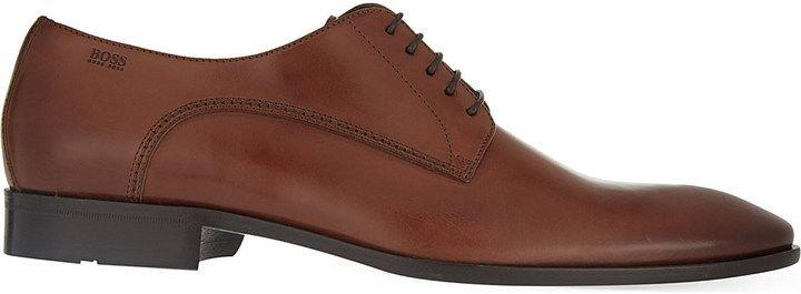 Hugo Boss Nos Carmons Derby Shoes, Men's, Size: EUR 40 / 6 UK MEN, Grey