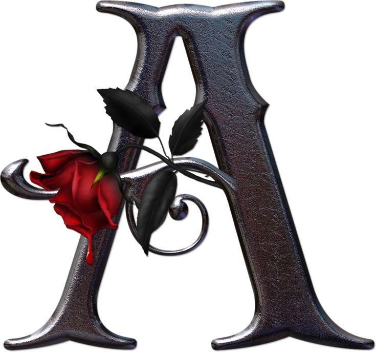 картинка шрифта роза токсичных элементов