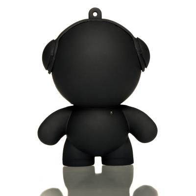 Black Mini Monster Speaker - Little speakers with BIG sound! These little guys are perfect for BBQ's, garden parties, or anywhere else you might need portable music. Available in lots of colours.