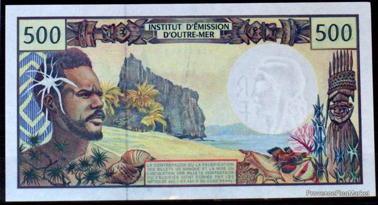 France  Pacifique 500 Francs CFP Polynesie Tahiti New Caledonie France Outre Mer | Monnaies, Billets du monde, Océanie | eBay!