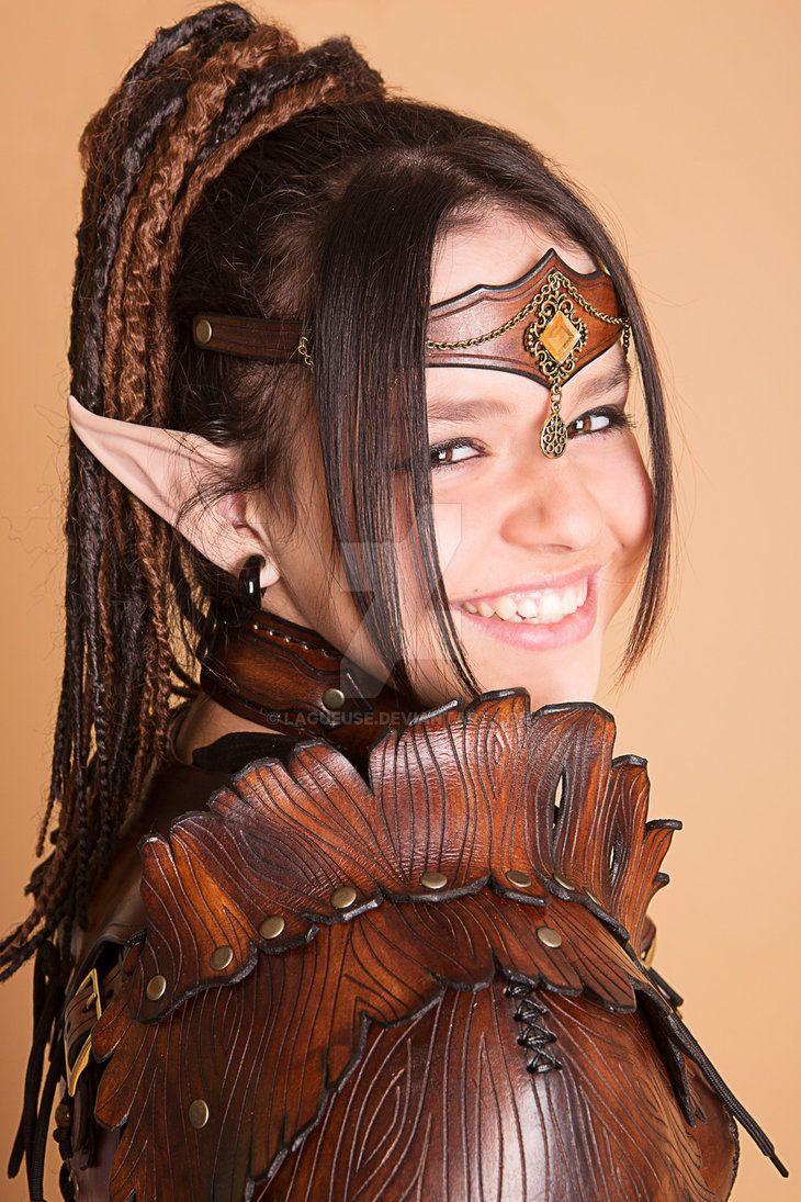 elfe des bois , wooden elven armor by Lagueuse on DeviantArt