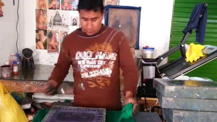 como limpiar la pintura de la malla serigrafica para volver a estampar