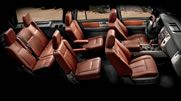 The Expedition King Ranch® features sumptuous Chaparral leather-trimmed 1st- and 2nd-row seats that are as comfortable as they are attractive.