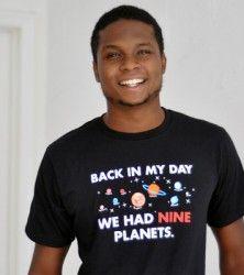 We had nine planets