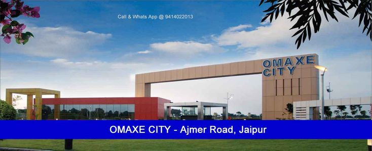 Omaxe City Jaipur Plots Ajmer Road Jaipur