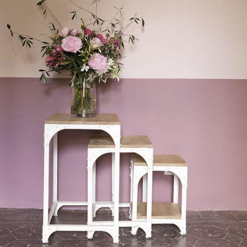 Set di tre tavolini estraibili ARCACHON di Maisons du Monde