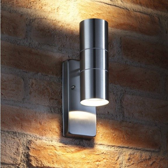 Auraglow Dusk Till Dawn Sensor Up Down Outdoor Wall Light