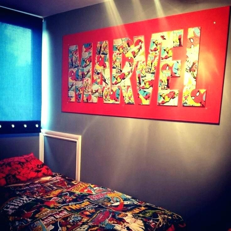 superhero room decor marvel room decor marvel bedroom ideas ...