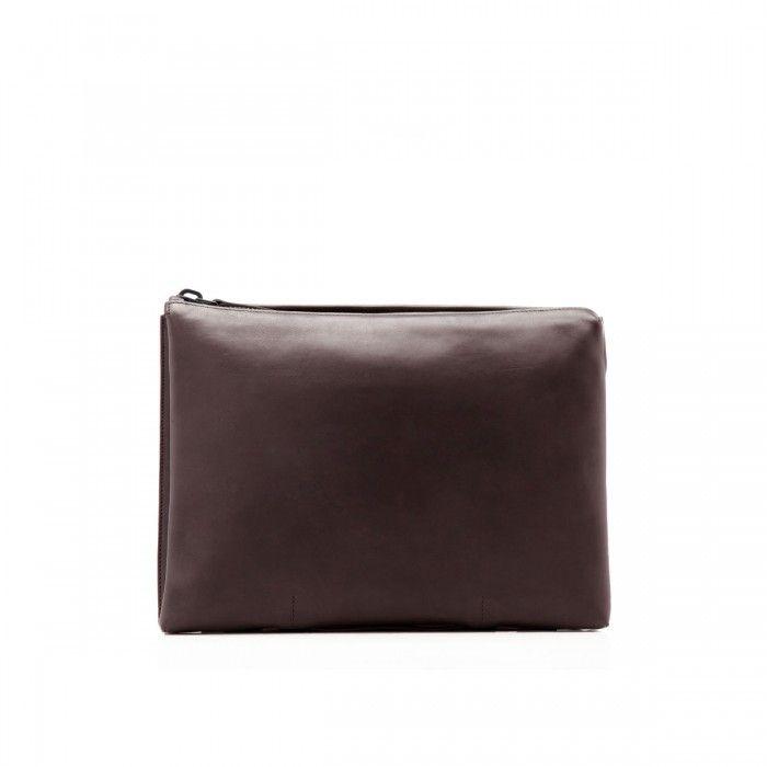 Leather Passport Case - dove by VIDA VIDA cNqAdBQ