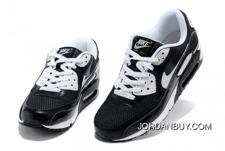 http://www.jordanbuy.com/nike-air-max-90-black-white-pure-sneakers.html NIKE AIR MAX 90 BLACK WHITE PURE SNEAKERS Only $85.00 , Free Shipping!
