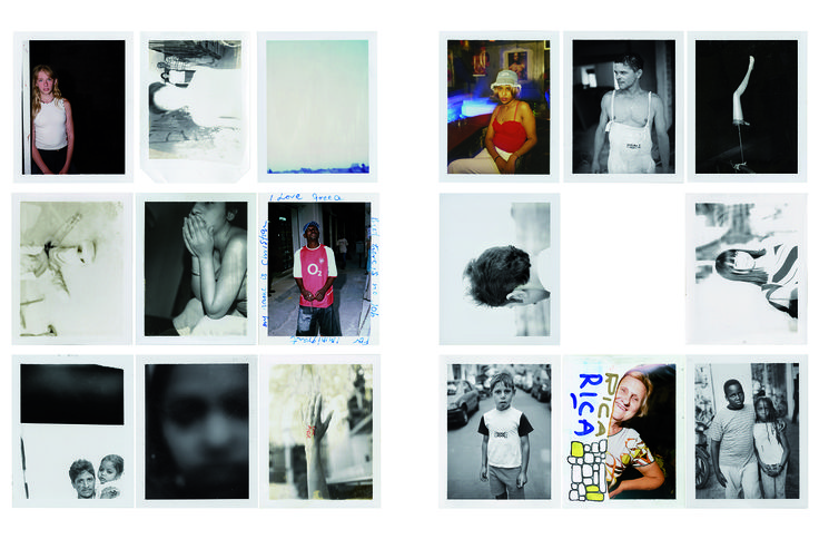 Jim Goldberg - a series of photographs about immigration and displacement. the body of work is called 'How I Dream'