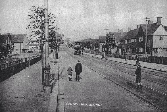Well Hall Road and Tram
