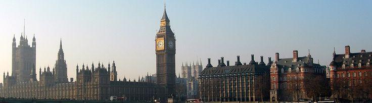 Skyline von London mit dem Big Ben vom London Eye aus. http://london.sehenswuerdigkeiten-entdecken.de/london-sehenswuerdigkeiten-top-10/