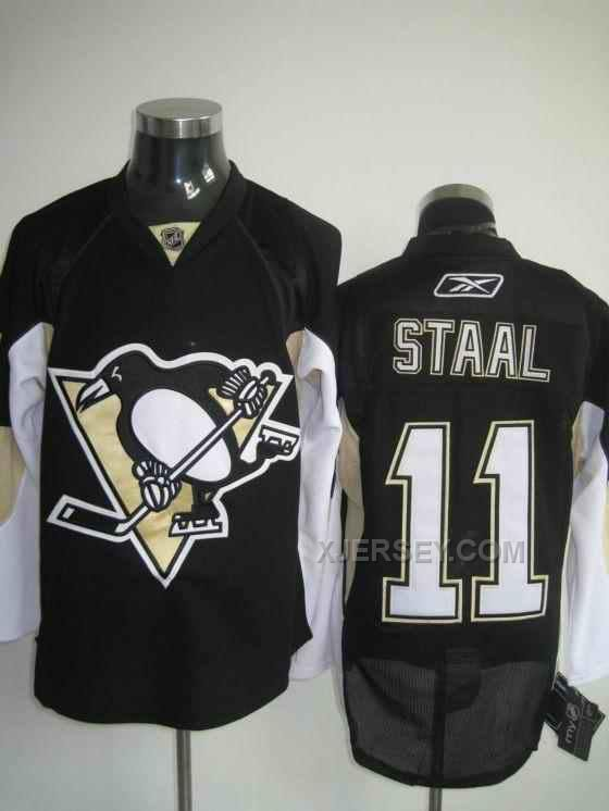 http://www.xjersey.com/penguins-11-jstaal-black-jerseys.html PENGUINS 11 J.STAAL BLACK JERSEYS Only $46.00 , Free Shipping!