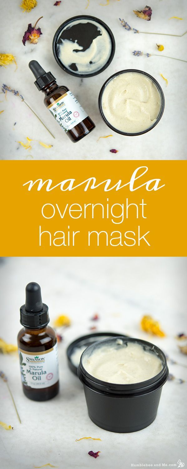 How to make a Marula Overnight Hair Mask