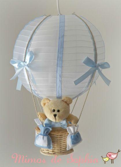 lustre de balão para quarto de bebê - 2