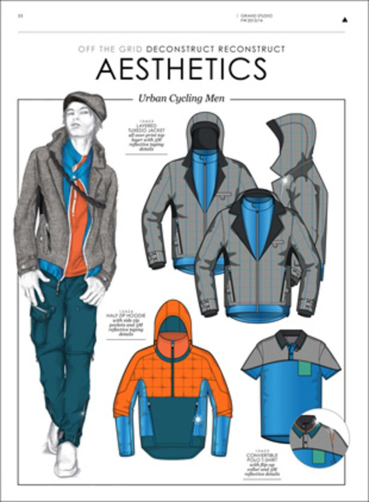 The Third Eye - F/W 13/14 - Active / Sportwear - Styling forecasts- ...