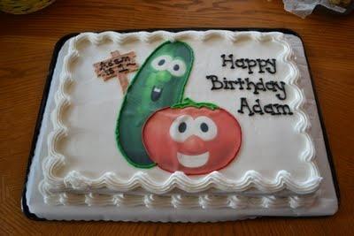 A Very Veggie Tales First Birthday!