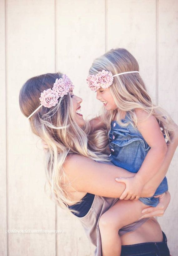 Shabby Halo Headband. Infant toddler child by DanicasChicBowtique, $10.00. Photography by Ashley Addison Photography.