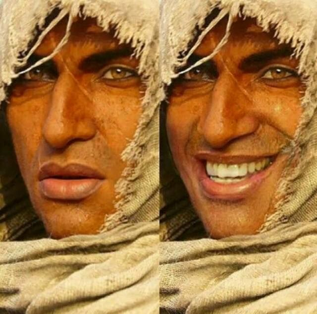 I Laughed So Hard At Bayek Face Assassins Creed Assassins Creed