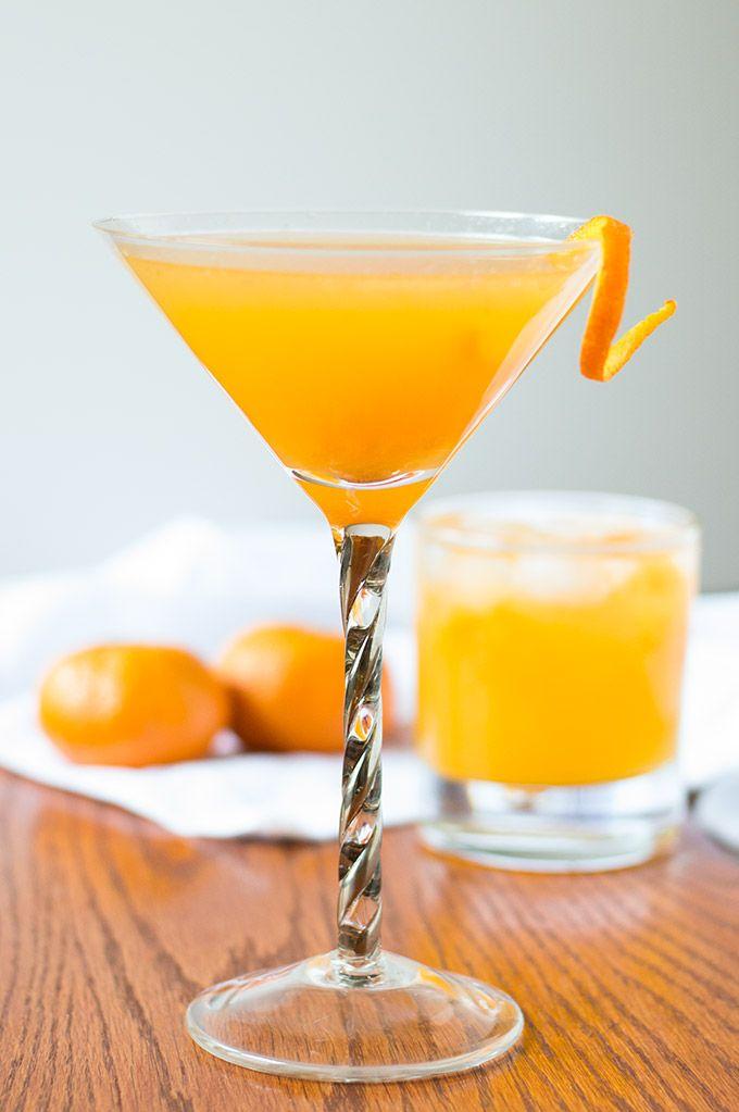 Mandarin Orange Tequila Smash   Recipe   Fun cocktails