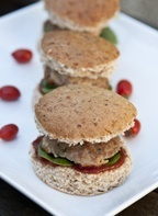 Ranch Turkey Sliders is a quick way to get a healthy meal that the whole family can enjoy!