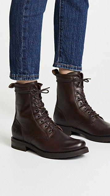 5dcf13d7832 Veronica Combat Boots in 2019 | SHOES | Boots, Combat boots, Shoe boots
