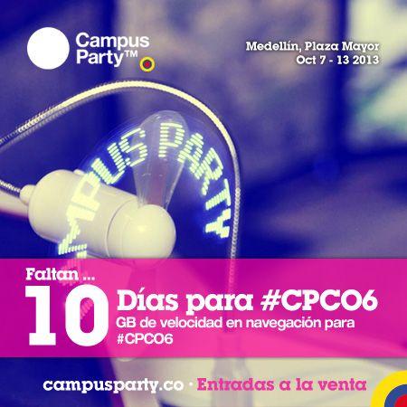 10 Días para #CPCO6