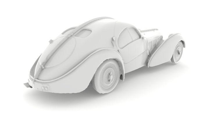 bugatti 3D KeyShot