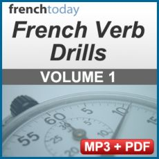 """French conjugation is a pain. These drills are the remedy Many students are familiar with French verb tenses and know the logic behind them, and spend hours upon hours studying them. Yet, when they have to use them, they freeze. It's very frustrating. Furthermore, since books don't teach you pronunciation, many students end up butchering French verbs; even if you learned with some audio, it taught you the """"classic"""" pronunciation, not the modern glided one used in today's French. This method…"""