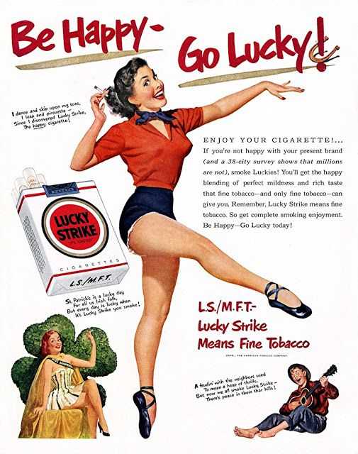 vintage everyday: Bizarre Tobacco Advertising from 1920s-1930s