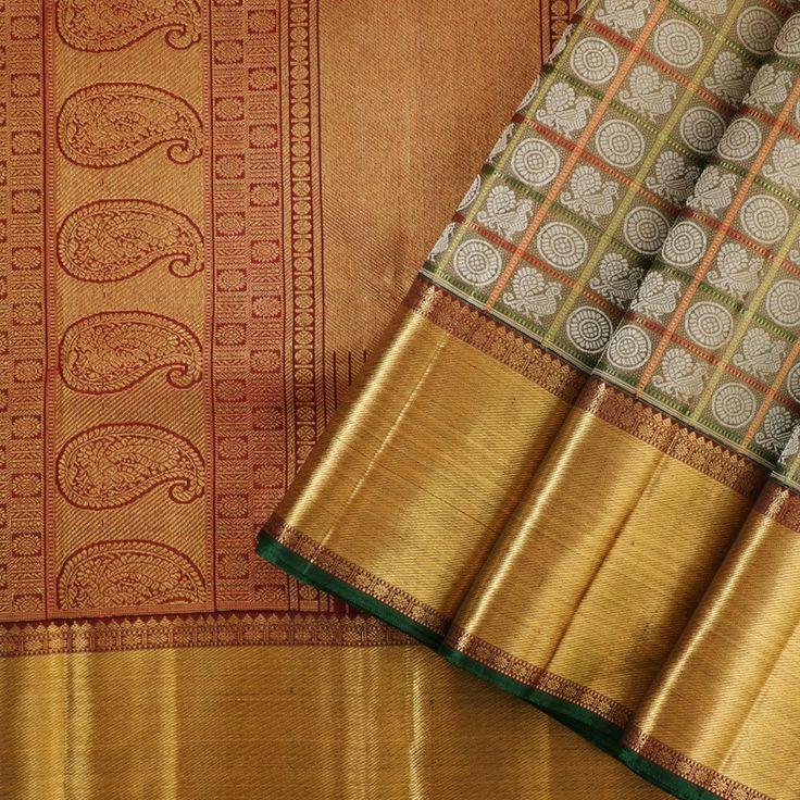 Kanakavalli Kanjivaram Silk Sari 021-01-18510 - Cover View