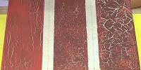 Creación Artesanal Técnica de craquelar, como hacer un efecto craquelado en trupan.