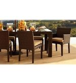 Cappuccino Six Seater Dining Set
