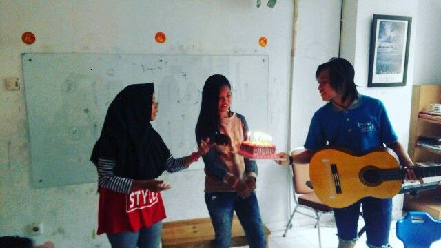 Rumah Junior Foundation  Indonesia Social Education Suprise for our student - support and pray