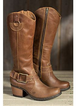 Women's Born Loreza Tall Leather Boots