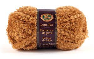 Luxe Fur Yarn from Lion Brand Yarn