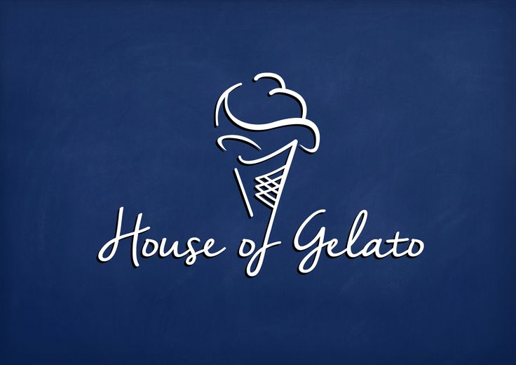 Logo Design and Brand Proposal for House of Gelato.
