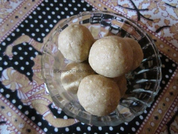 Ladoo is an easy to make sweet that can be prepared at home with just 2-3 ingredients. Atte ka Ladoo is very healthy too with an amazing flavor and beautiful texture. This ladoo is famous all over North India.