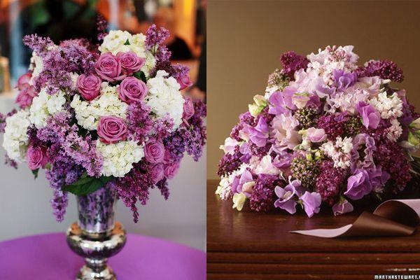 Best lilac wedding flowers ideas on pinterest purple