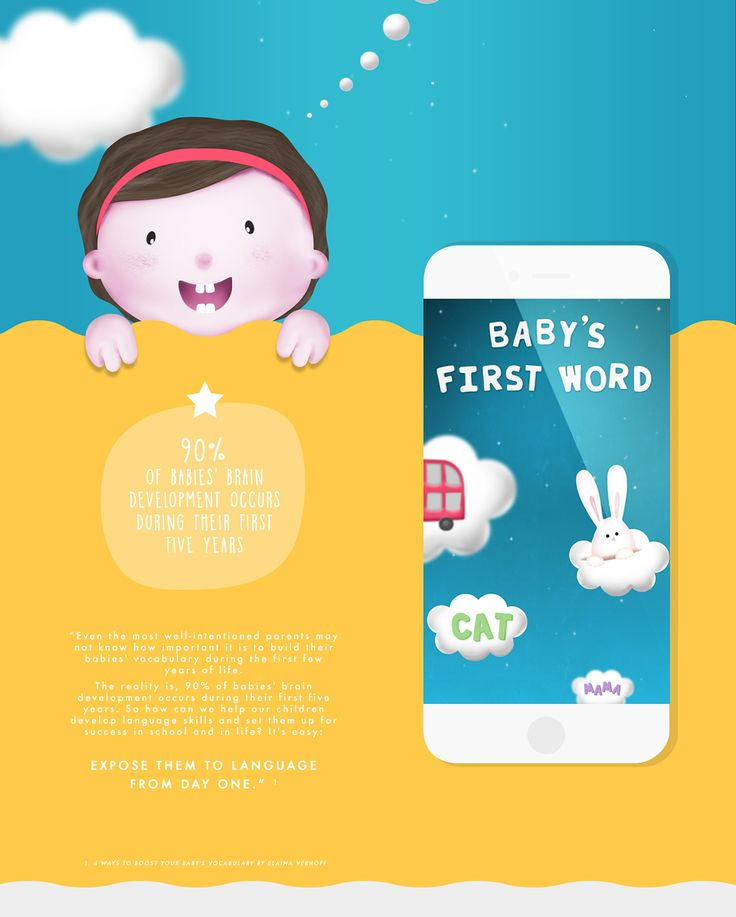 BABY'S FIRST WORD on Behance