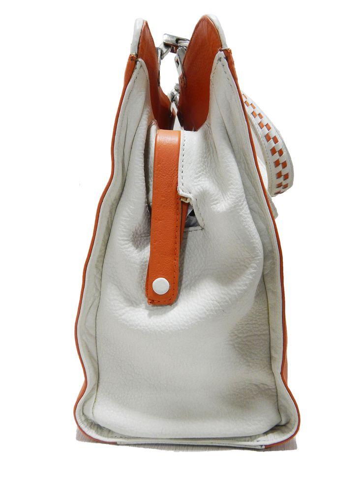 LEATHER WEAVING BAG