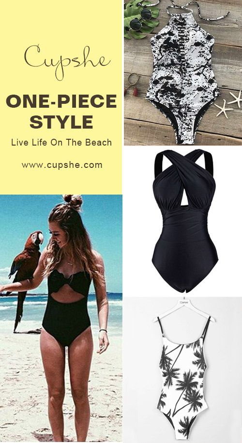 Start to shine~ Short shipping time as well! These flattery swimwears are chic must-have of the year! Your perfect option for a hot summer vacation! Listen! The sea is calling! Get our fantastic one-pieces ready with you at Cupshe.com !