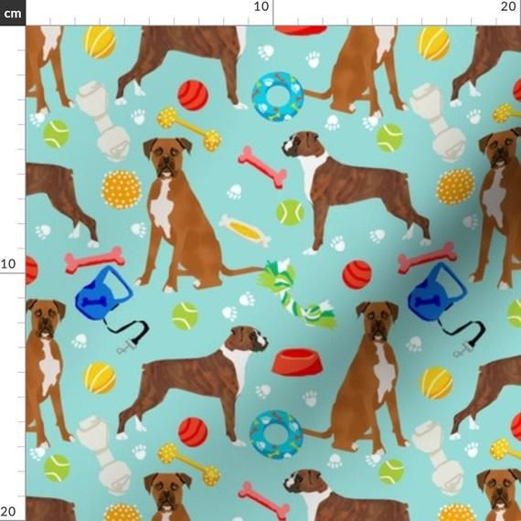 Boxer Fabric Boxer Dog Toys Best Boxer Dog Fabric Boxer Owners