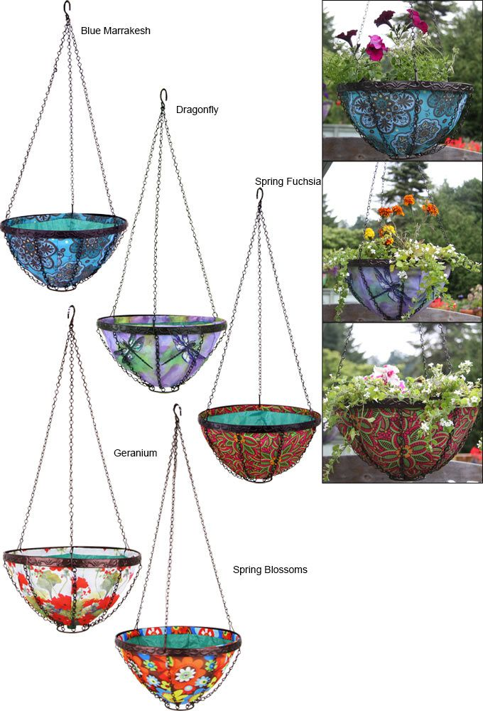 hanging garden art basket from the animal rescue site store