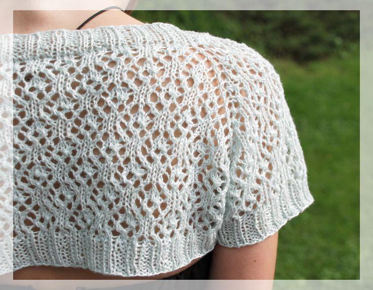 101 best images about Knitting bolero and shrug on ...