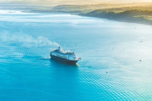 Kingfisher Bay Resort recently welcomed P&O Cruises on their maiden voyage to Fraser Island