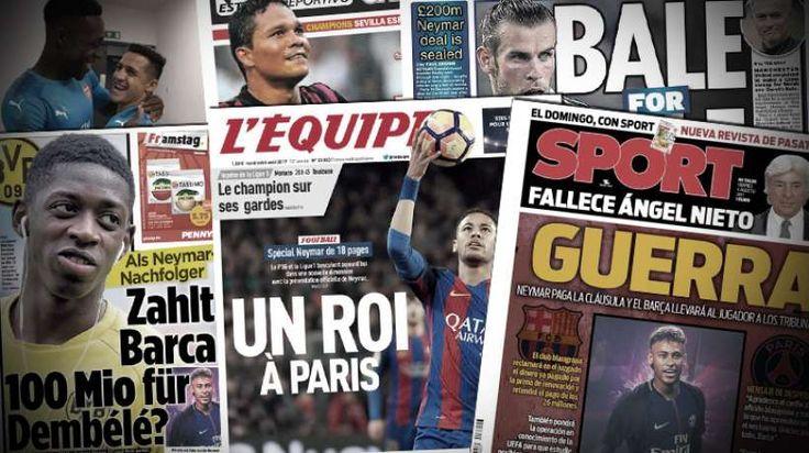 Monaco va faire une offre pour Alexis Sanchez, Bacca s'éloigne de l'OM, Gareth Bale est à vendre, retrouvez dans votre revue de presse Foot Mercato les dernières informations de la presse sportive européenne. Monaco tente le coup Alexis Sanchez ? Si (...)